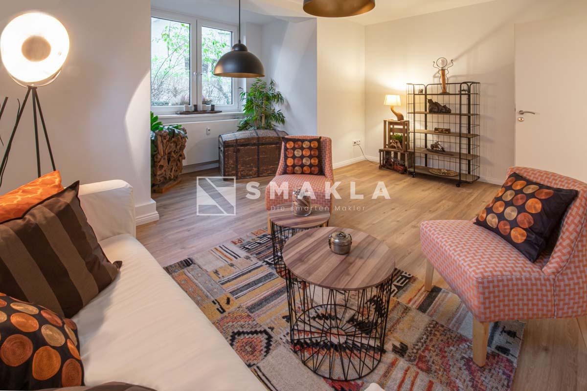 Wohnzimmer / Etagenwohnung im Zehlendorf